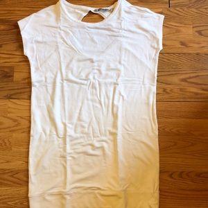 Athleta stretch white dress size medium